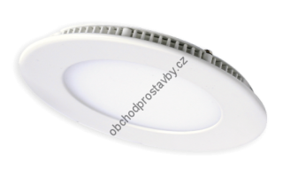 Bodovka LED DOWNLIGHT 3W SLIM LIGHTECH kulatá